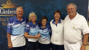 Winners of Bridgestone Mixed Fours
